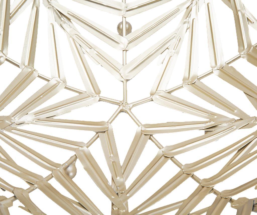 Set 2 dekorativnih servirnih krožnikov Simple Leaves