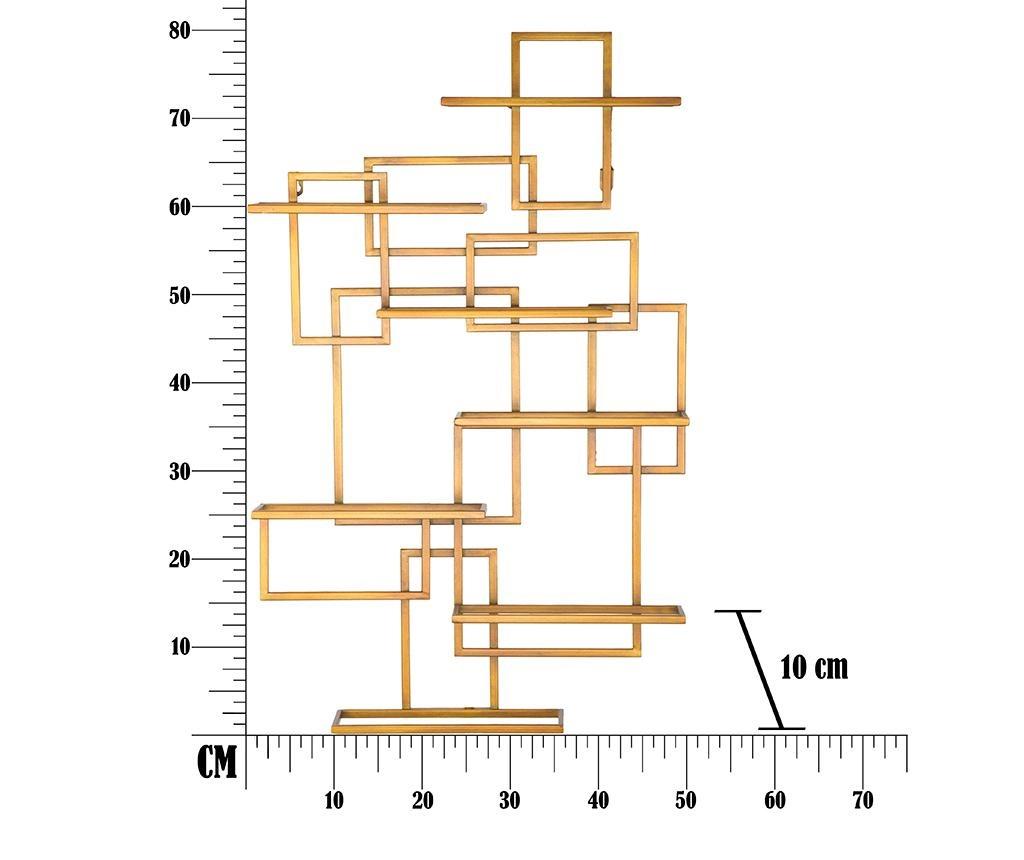 Suport  de perete pentru sticle Vertical