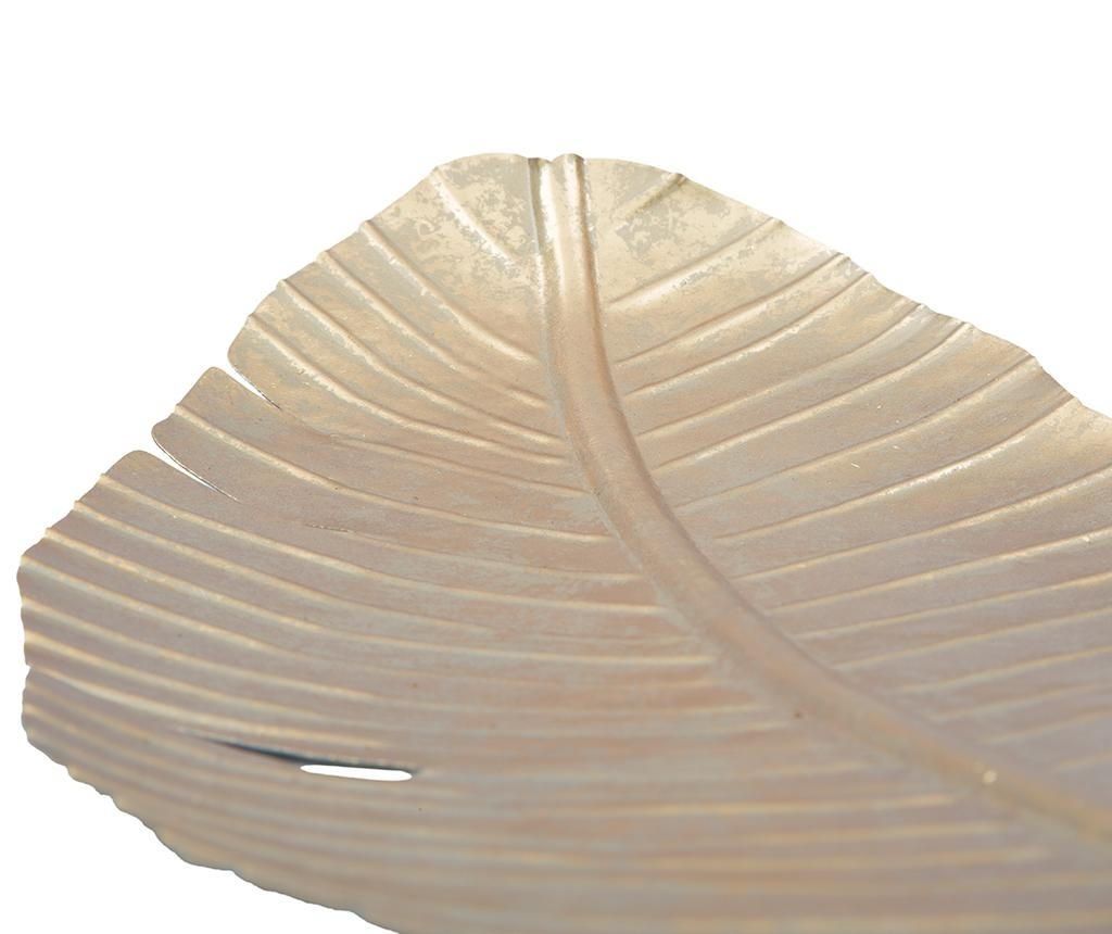 Dekorativni servirni krožnik Leaf Long