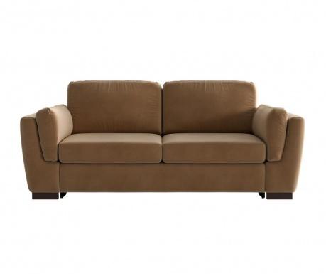 Bree Camel Kétszemélyes kihúzható  kanapé