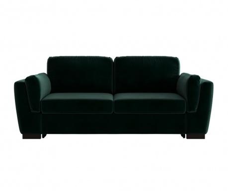 Bree Green Kétszemélyes kihúzható  kanapé