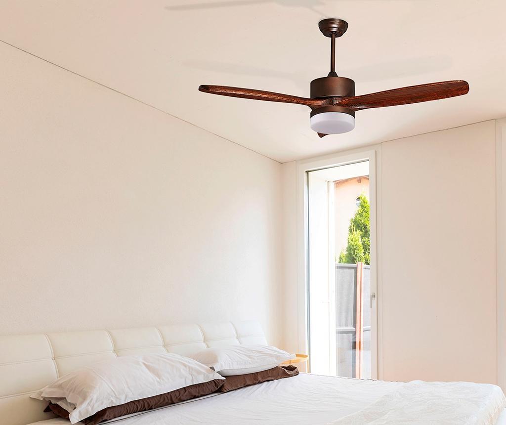 Stropna svetilka z ventilatorjem Hegoa DC