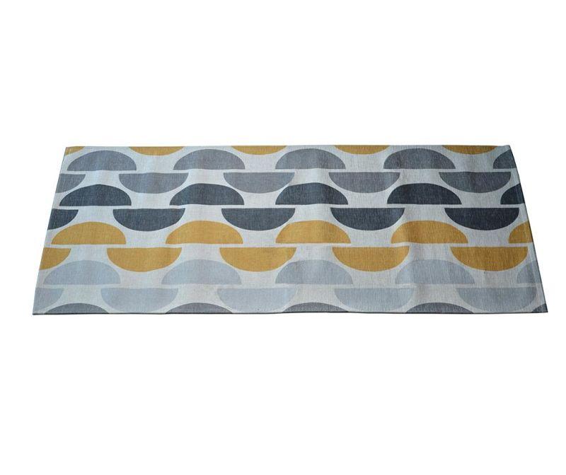 Preproga Halfmoon Grey Ochre 60x240 cm