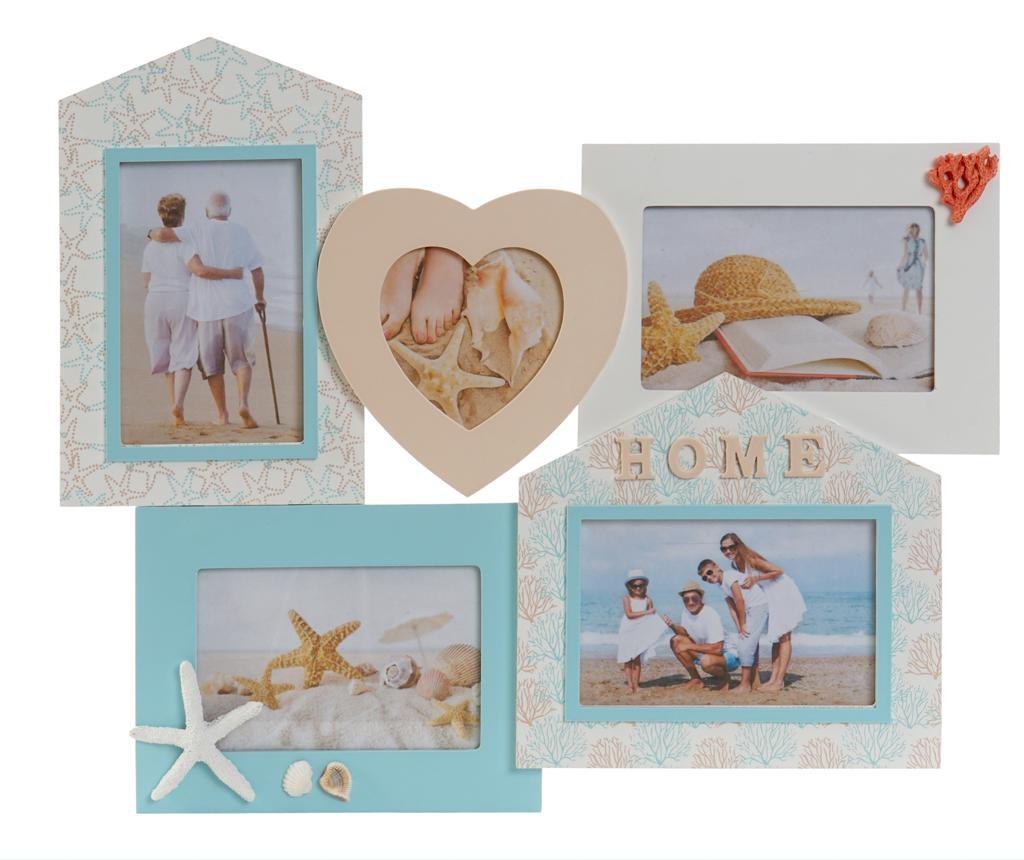 Decoratiune cu 5 rame foto Ernest