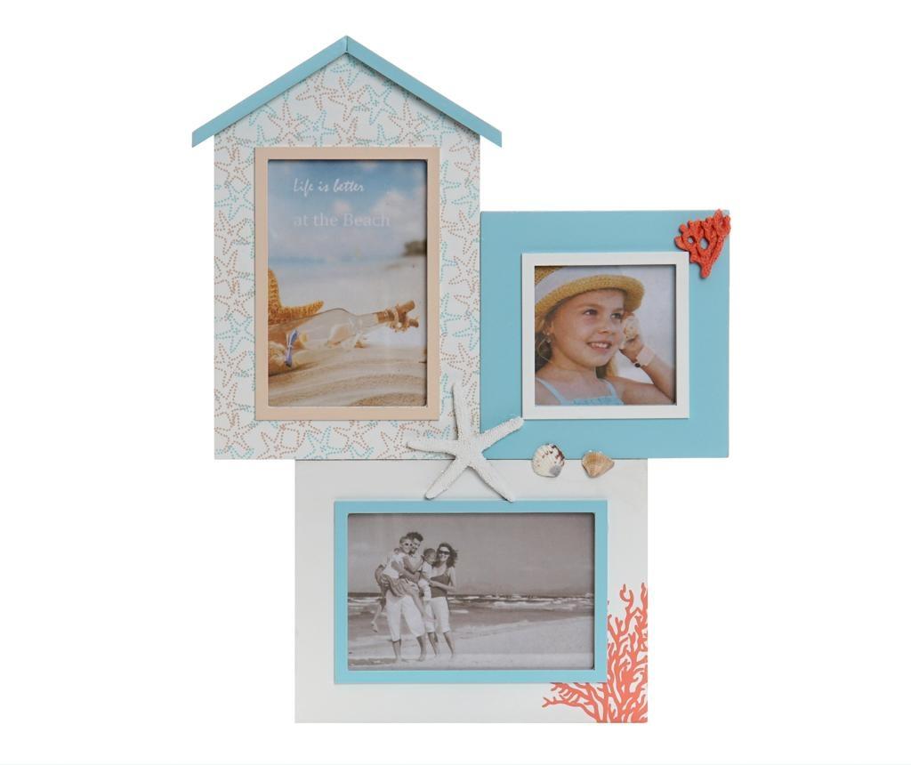 Decoratiune cu 3 rame foto Leah