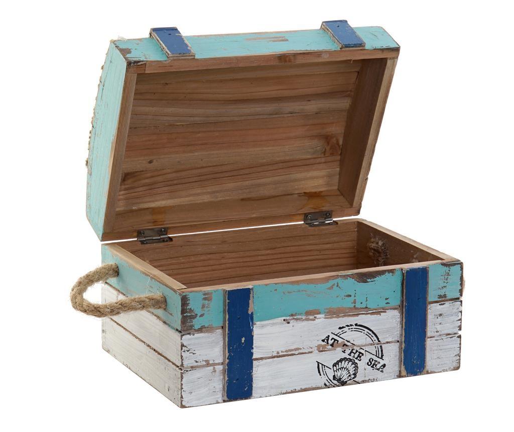 Set 3 cutii decorative cu capac Brian