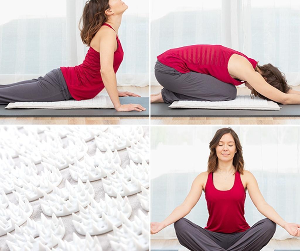 Mala prostirka za akupunkturu i masažu Yoga 41x66 cm