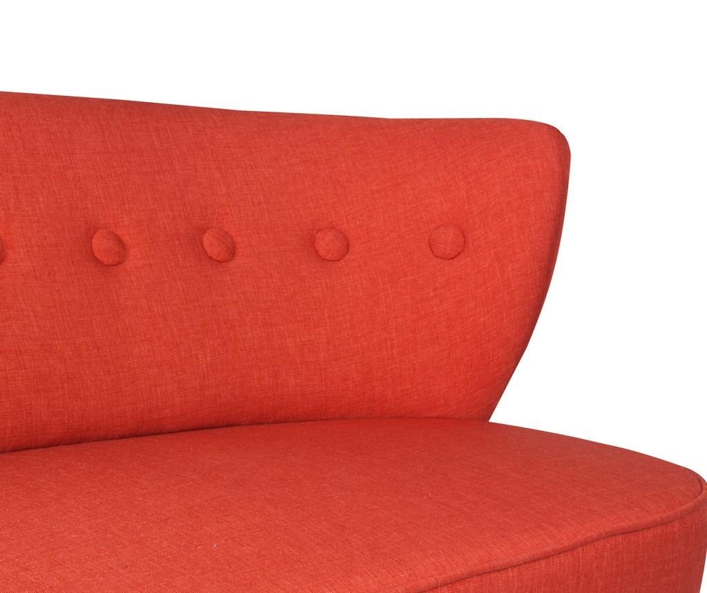 Josephine Brick Red Kétszemélyes kanapé