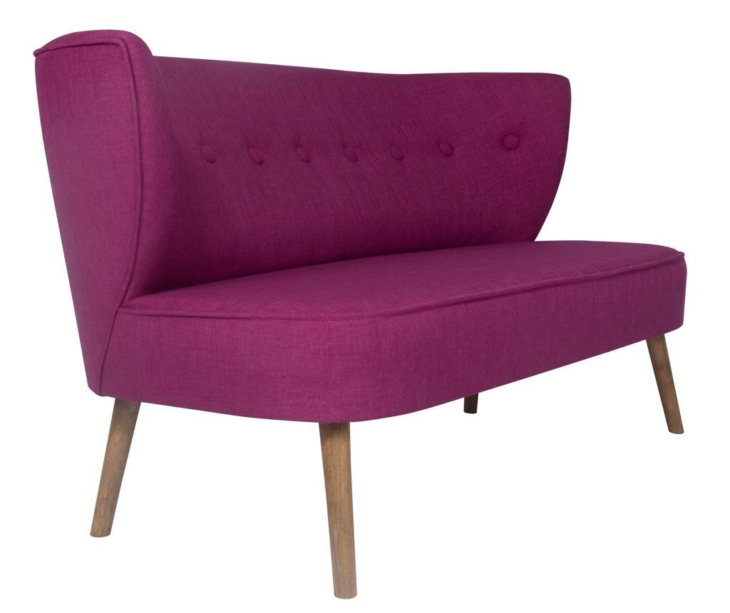 Canapea 2 locuri Josephine Purple