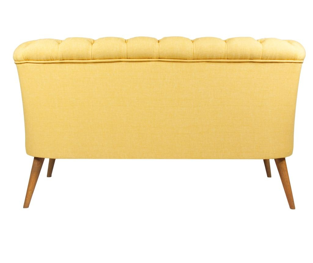 Beatrice Yellow Kétszemélyes kanapé