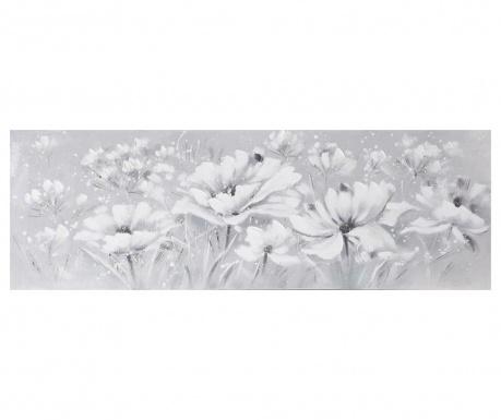 Tablou White Fields 50x150 cm