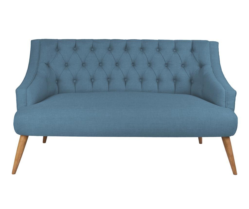 Canapea 2 locuri Penelope Night Blue