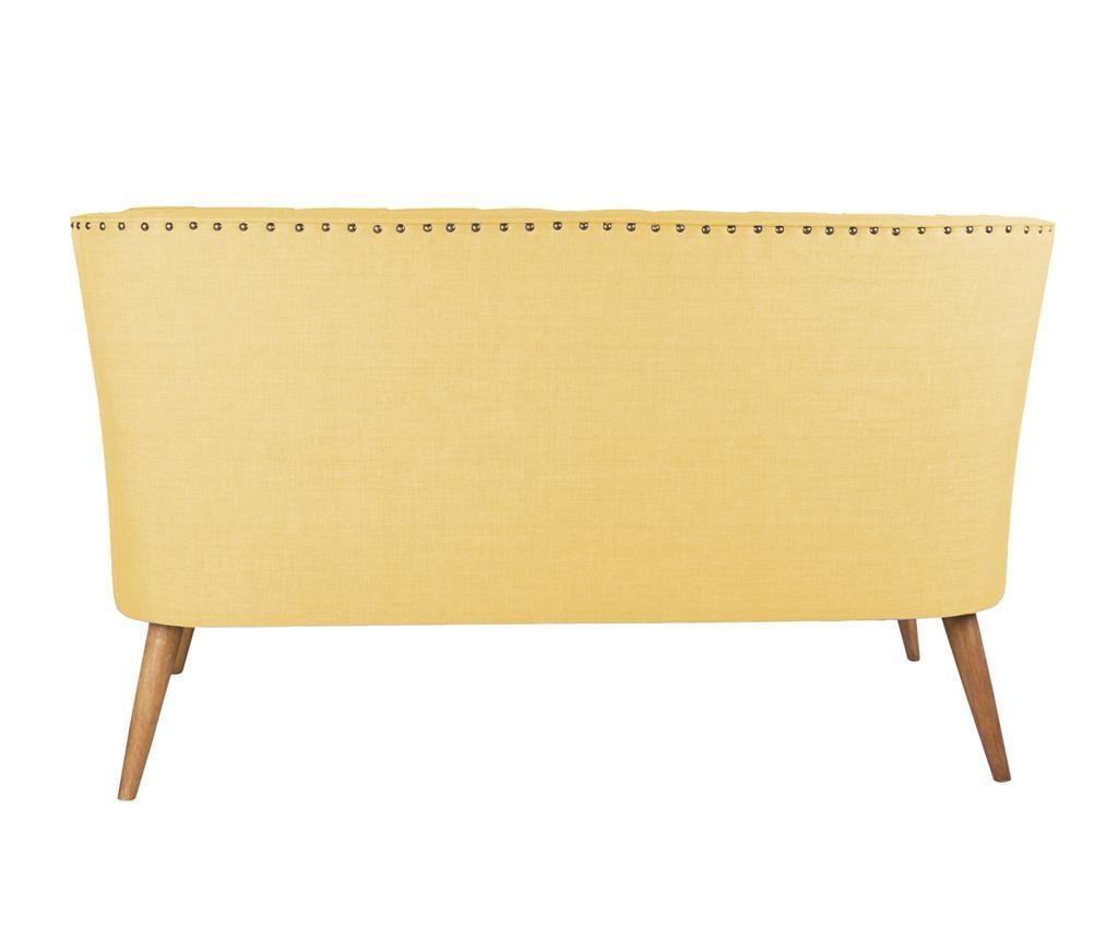 Canapea 2 locuri Penelope Yellow