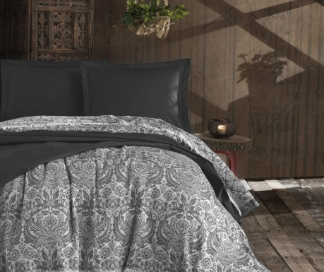 Κουβέρτα Pique Nish Anthracite 240x260 cm