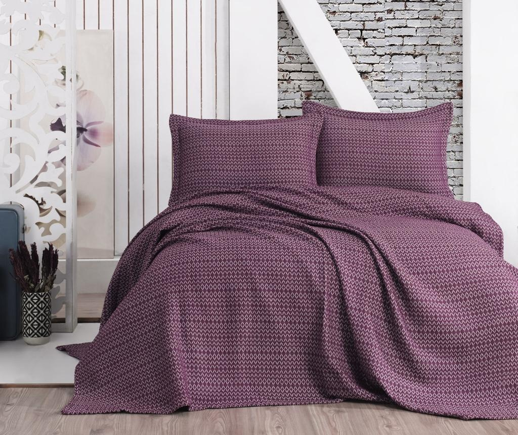 Set cuvertura Double Extra Wide Laden Purple