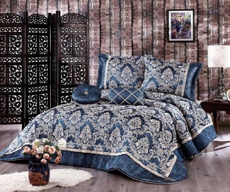 Σετ κουβέρτα καπιτονέ King Osmanli Dark Blue