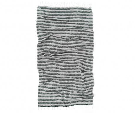 Πετσέτα μπάνιου Pestemal Lines Grey 90x170 cm