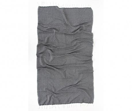 Πετσέτα μπάνιου Pestemal Silyah Grey 90x170 cm