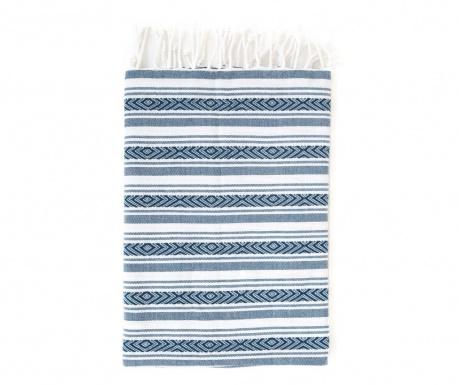 Πετσέτα μπάνιου Pestemal Velovis Blue 90x170 cm