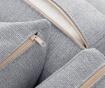 Coltar stanga Organdi Big Angle Grey