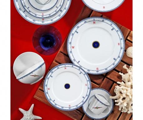 Σετ πιάτα φαγητού 24 τεμάχια Dinner Claudette