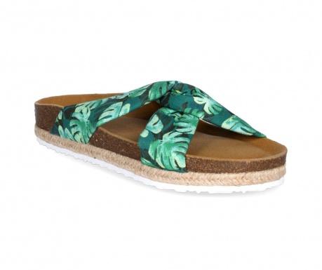 Γυναικεία παπούτσια Knot Palms Green Lime