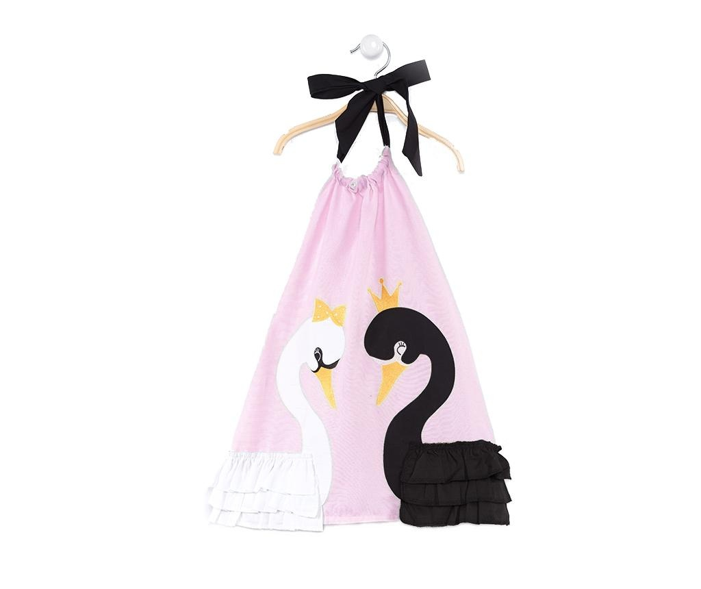 Rochie copii Swan Pink 5 ani