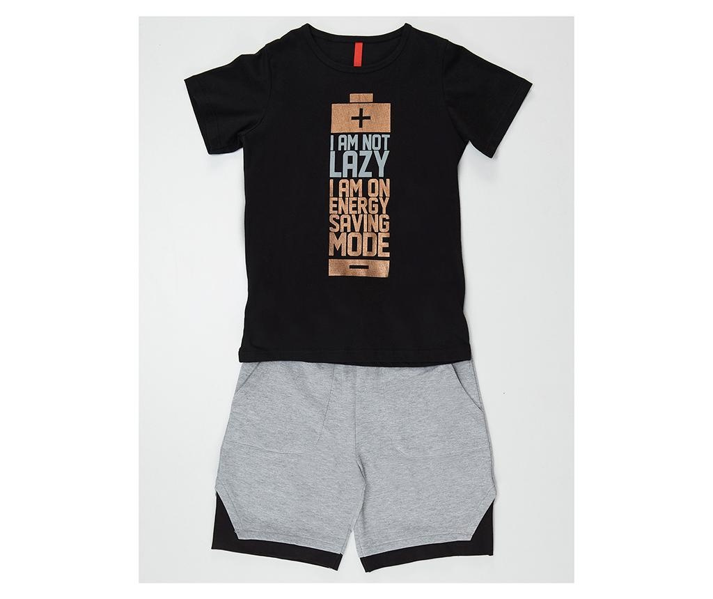 Set tricou si pantaloni pentru copii Saving Mode 5 ani