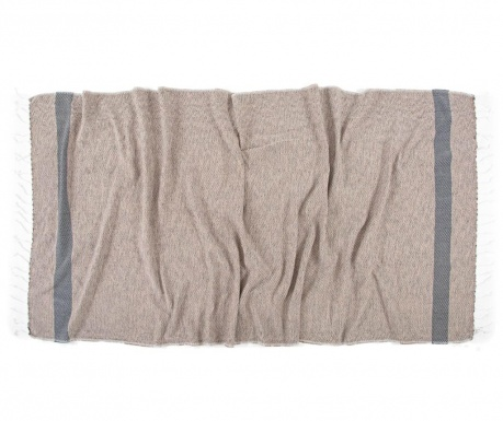 Кърпа за баня Pestemal Teos Coffee 90x170 см