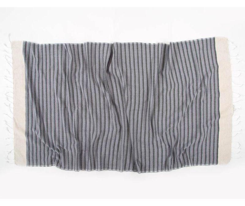 Кърпа за баня Pestemal Side Smokey 90x170 см