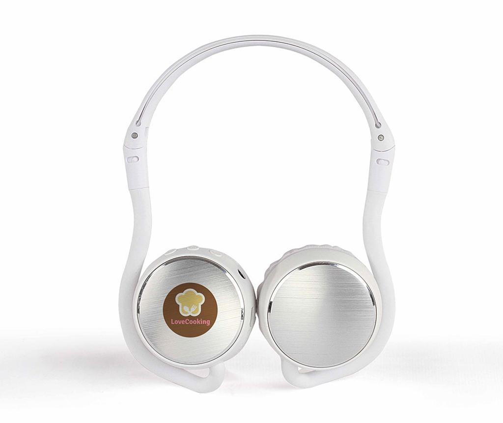 Sport White Vezeték nélküli bluetooth fejhallgató