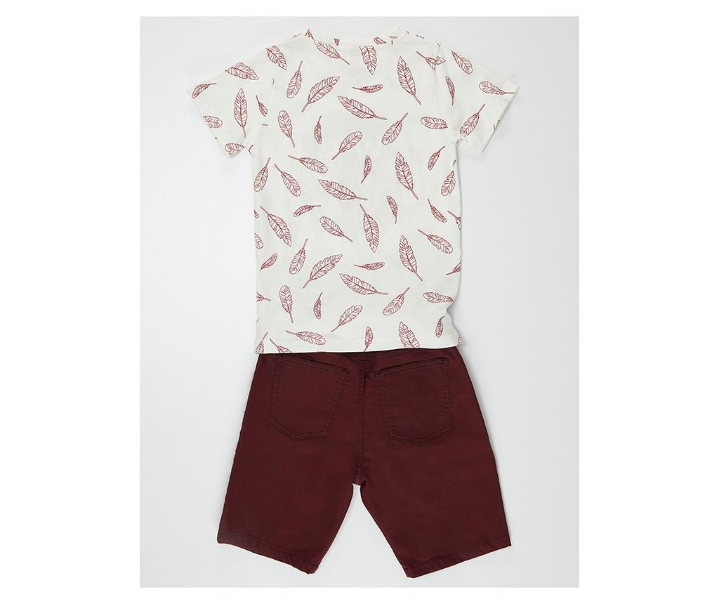 Set tricou si pantaloni pentru copii Be Free 4 ani