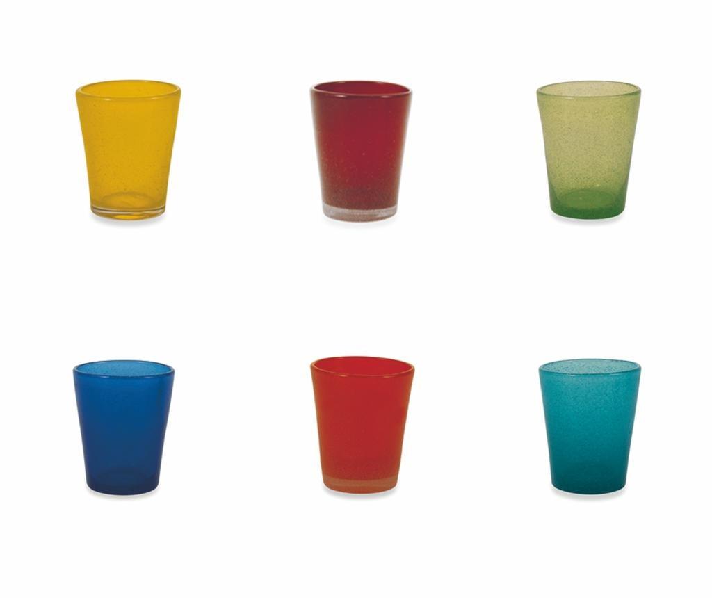 Set 6 pahare pentru apa Cancun Mexico 330 ml