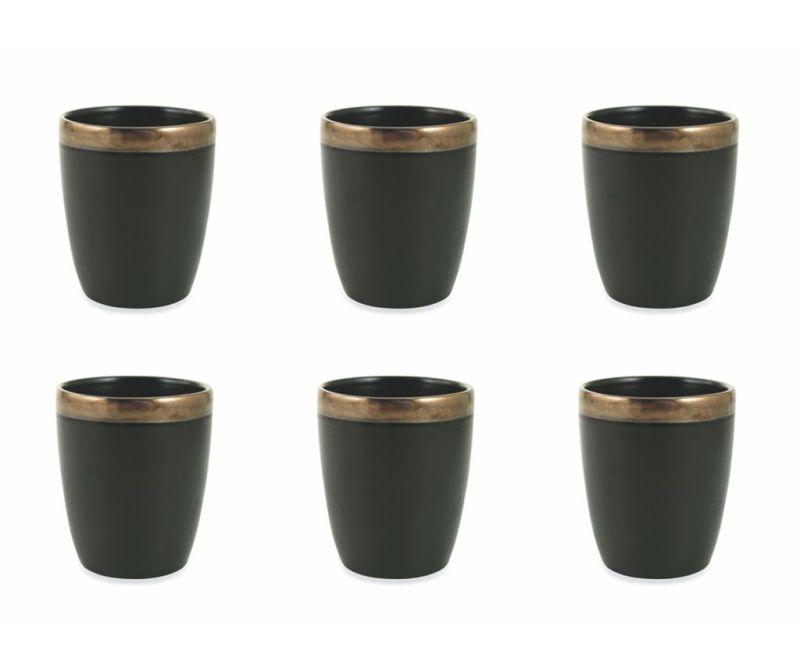 Set 6 čaša za vodu Naima Gold