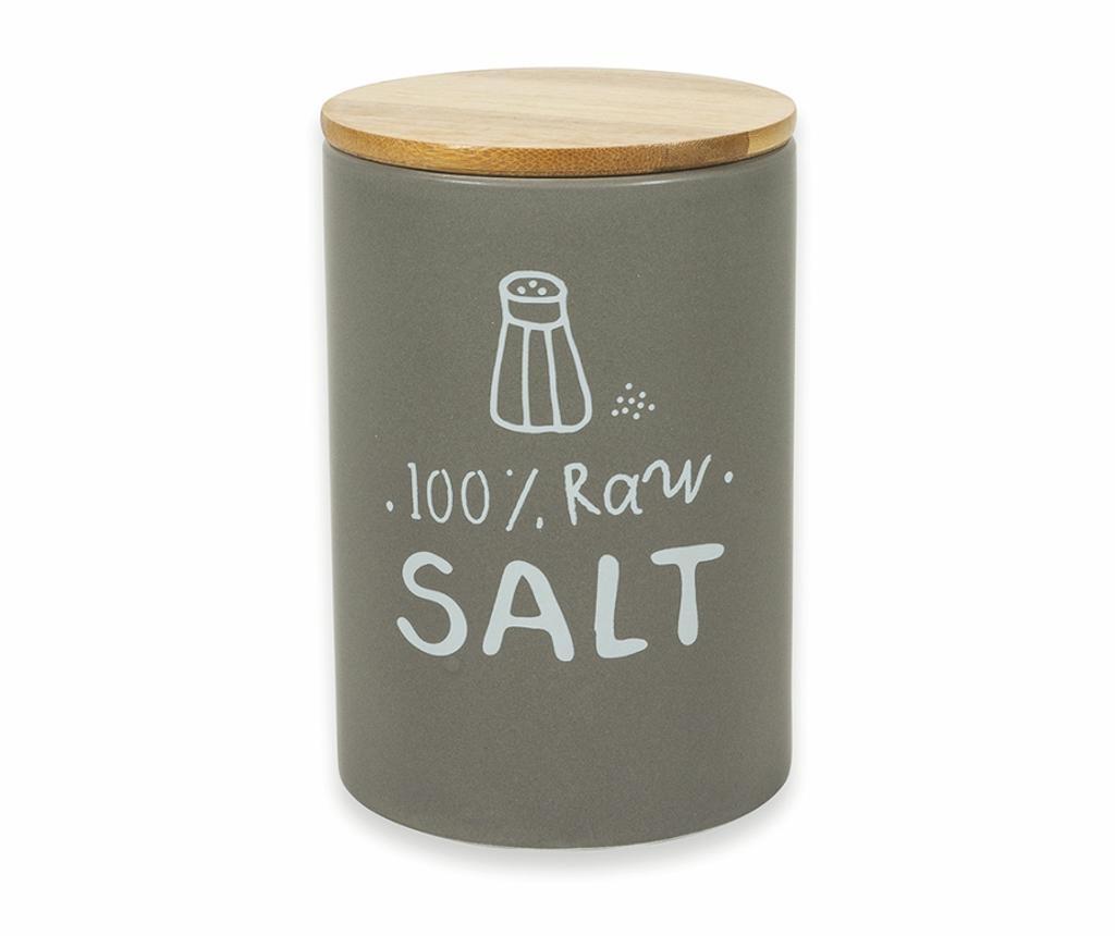 Natural Tároló hermetikus fedővel sónak
