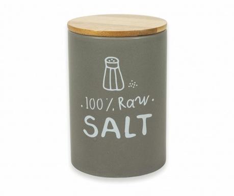 Съд с капак с херметическо затваряне за сол Natural