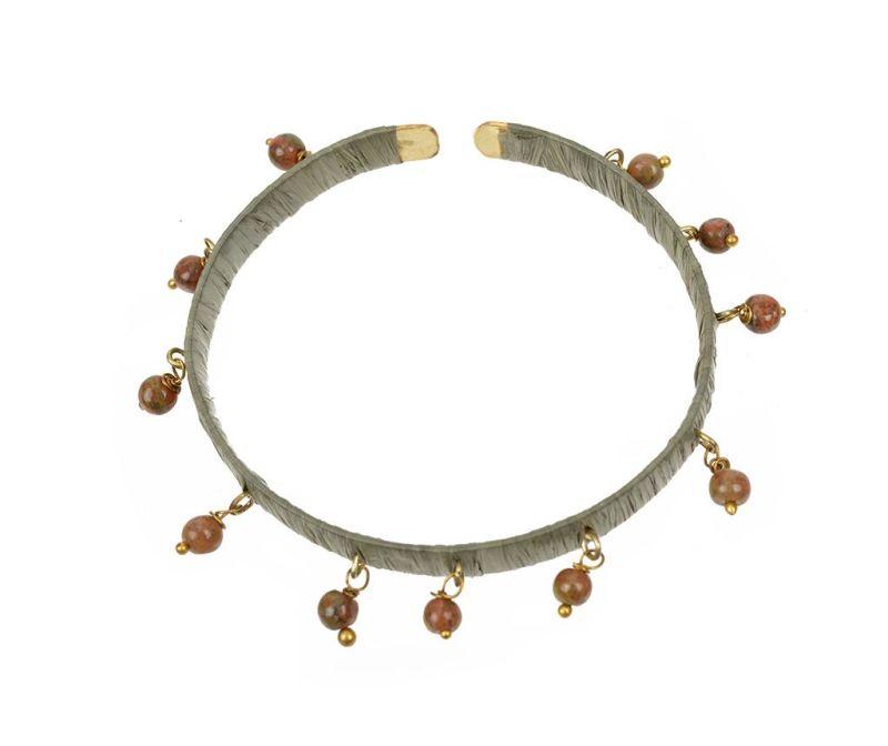 Гривна Festival Zen Beads Olive