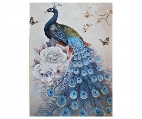 Картина Peacock Blue 50x70 см