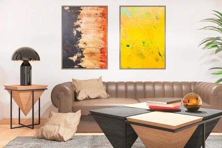 Мебели в креативни тонове