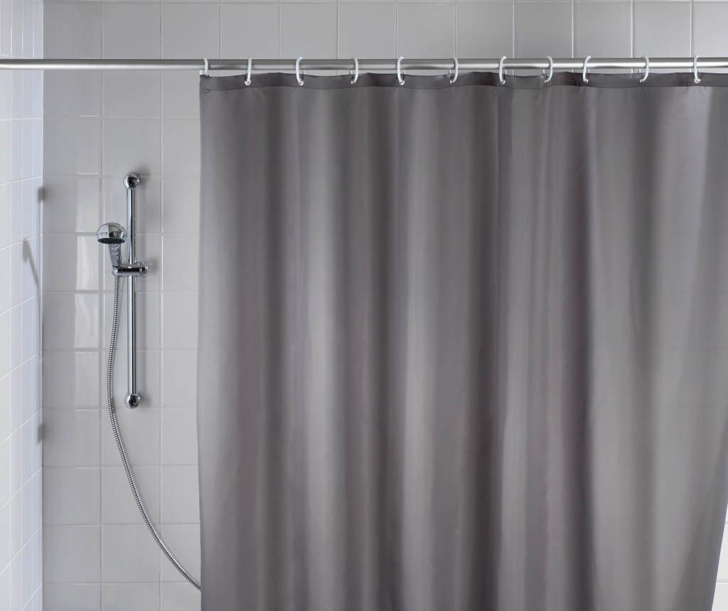 Zavjesa za tuš Barry Grey 180x240 cm