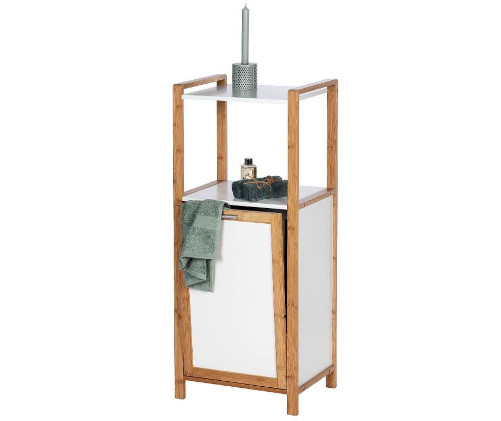 Шкафче с кош за дрехи Finja