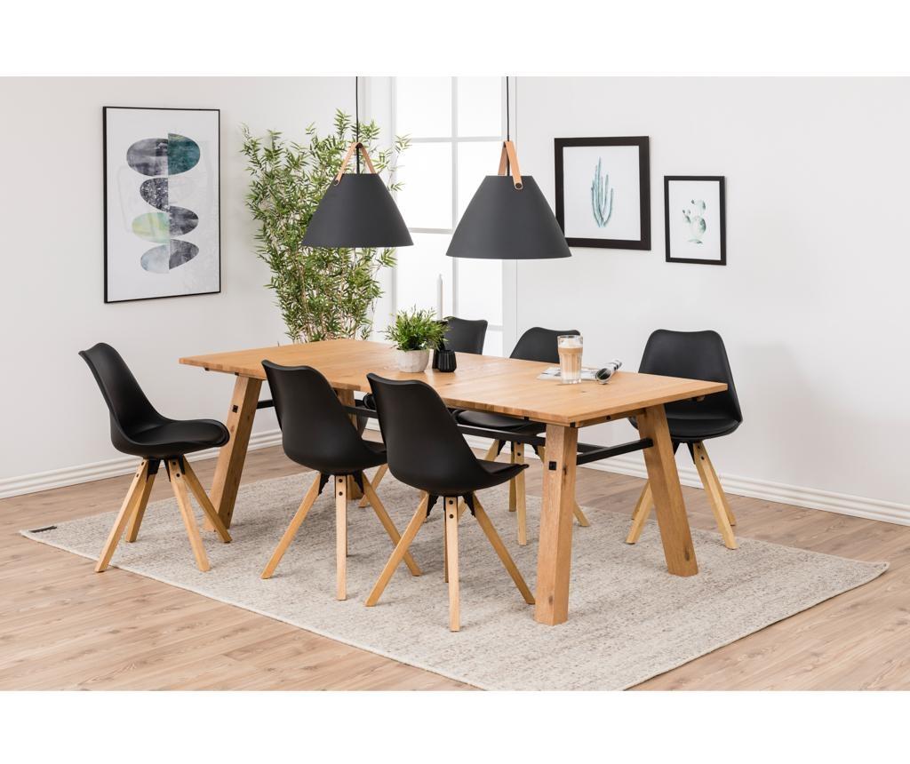 Set 2 scaune Dima Black