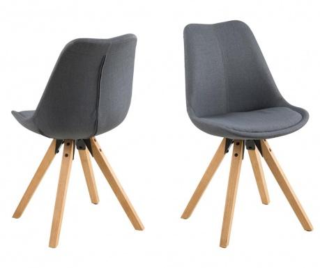 Комплект 2 стола Dima Corsica Dark Grey