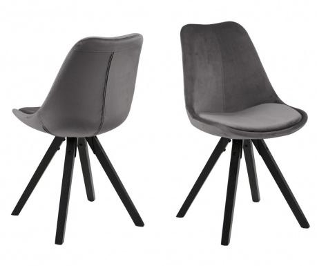 Комплект 2 стола Dima Black Grey