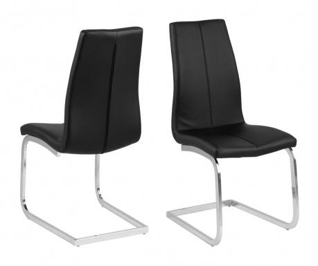 Комплект 2 стола Asama Swing Black