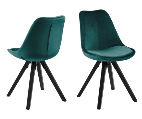 Комплект 2 стола Dima Black Green