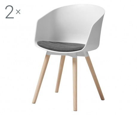 Комплект 2 стола Luna White
