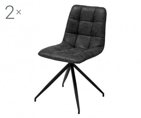 Комплект 2 стола Capone Black