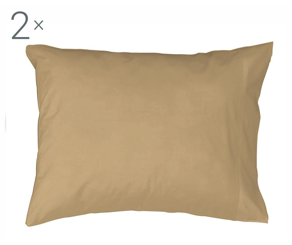 Set 2 fete de perna Casual Cream 50x80 cm