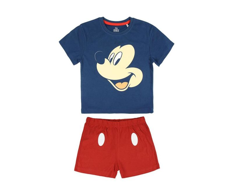 Set tricou si pantaloni scurti copii Mickey Mouse 6 ani